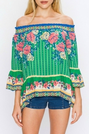 Flying Tomato Serefina Off-The-Shoulder Top - Product Mini Image