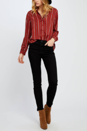 Gentle Fawn Serena Stripe Blouse - Product Mini Image