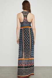BCBG Max Azria Serengeti Print Racerback Maxi-Dress - Front full body