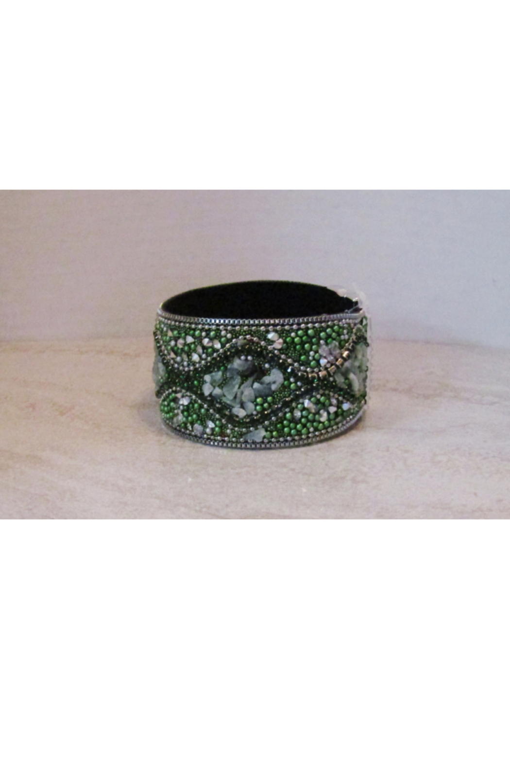 American Legacy Serenity Mosaic Stone Bracelet - Green - Main Image