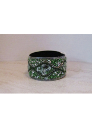 American Legacy Serenity Mosaic Stone Bracelet - Green - Front cropped