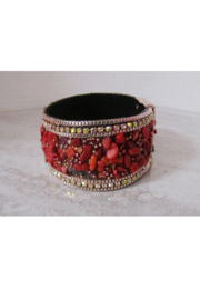 American Legacy Serenity Stone Bracelet - Red - Product Mini Image