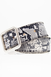 Streets Ahead Serpent Queen Snake Print Belt - Product Mini Image