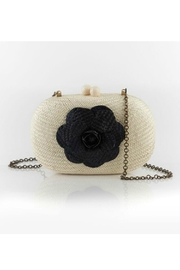 Serpui Marie Olive Camelia Clutch - Product Mini Image