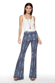 Viereck Serrano Print Flare Pull-on Pant - Product Mini Image