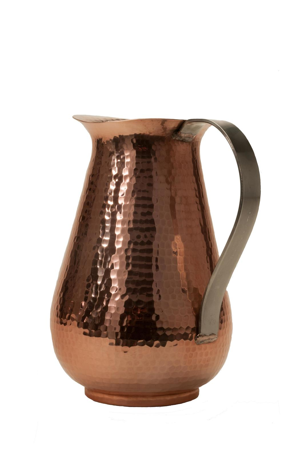 Sertodo Hammered Copper Jug - Side Cropped Image