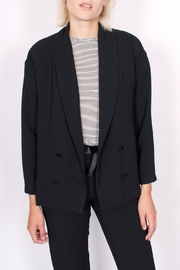 Sessun Charles Crepe Blazer - Front cropped