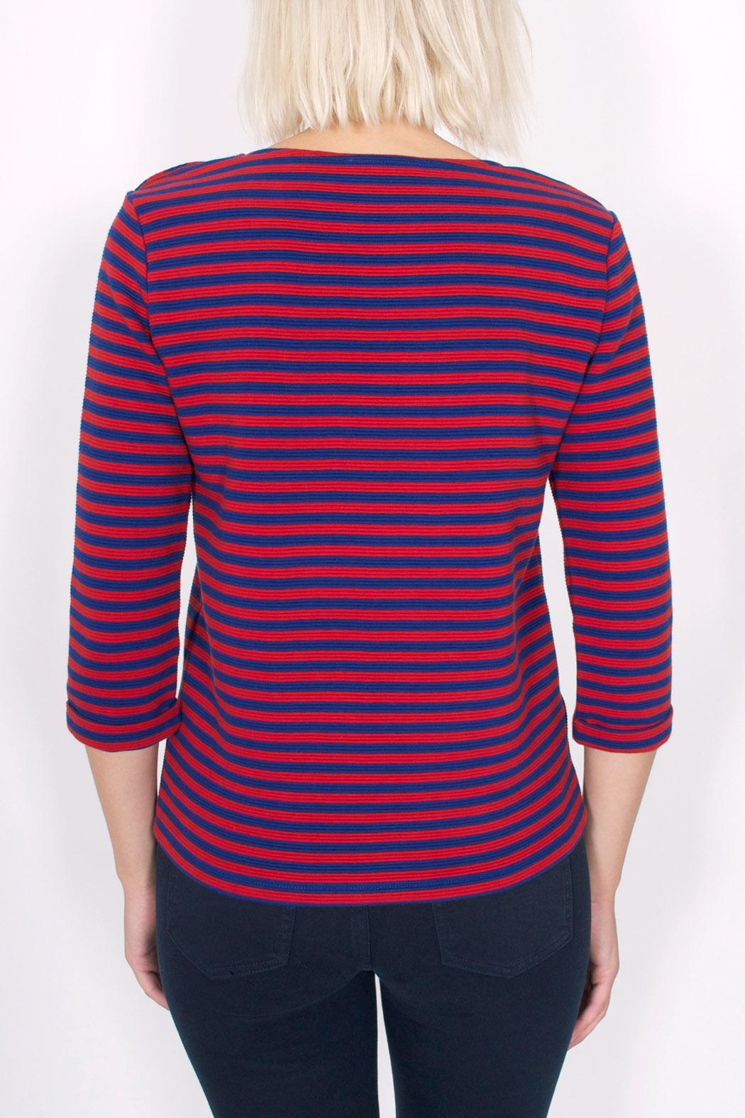 Sessun Emile Striped Top - Side Cropped Image