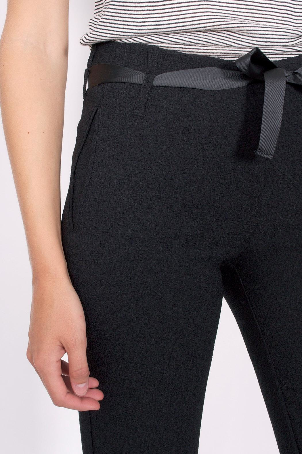 Sessun Levine Crepe Pants - Back Cropped Image
