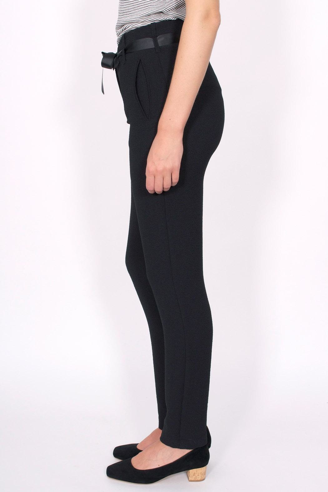 Sessun Levine Crepe Pants - Front Full Image