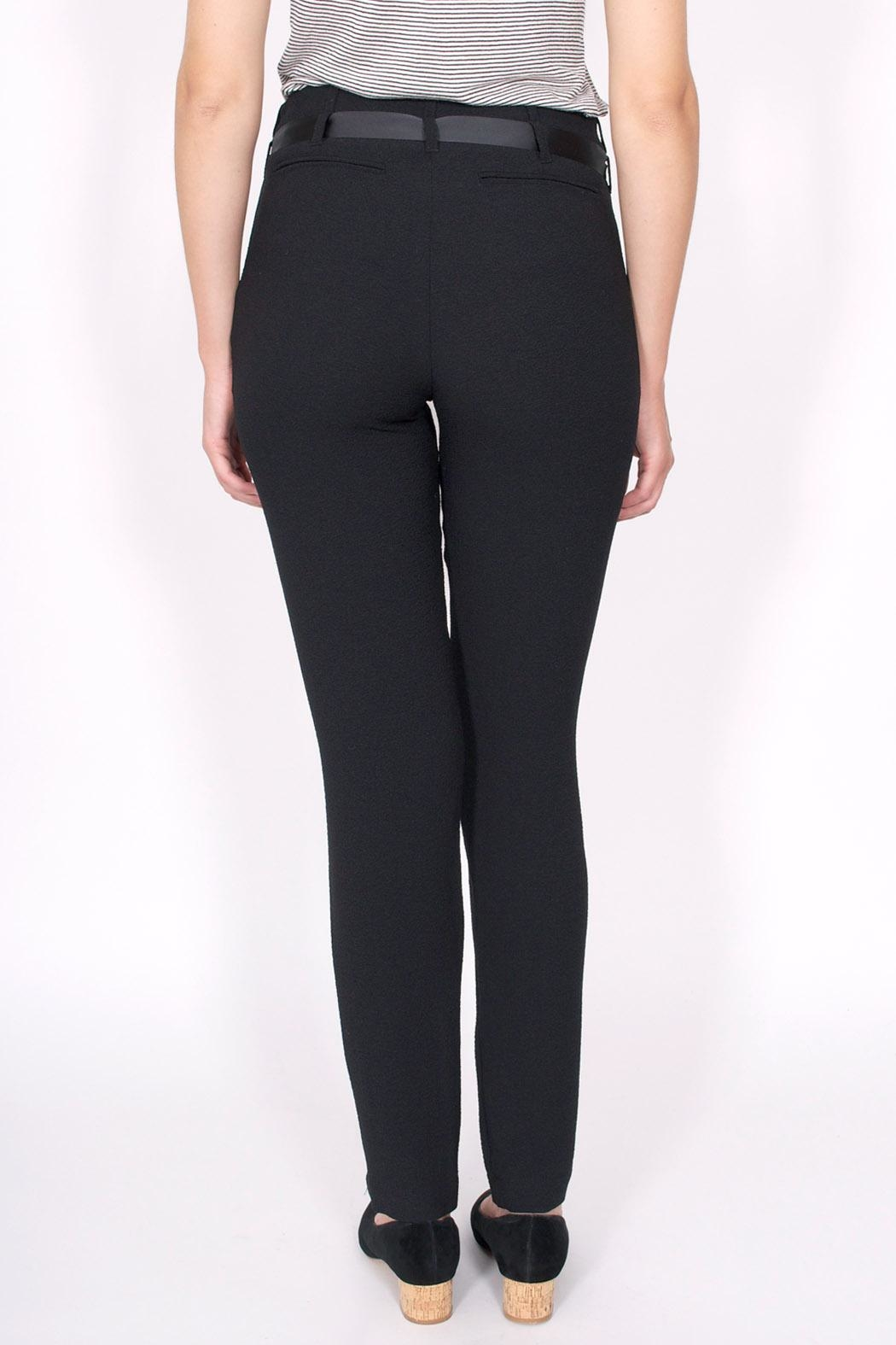 Sessun Levine Crepe Pants - Side Cropped Image