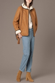 Sessun Paolo Shearling Coat - Front cropped