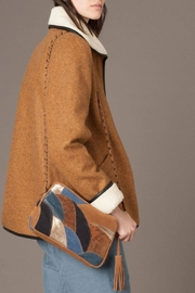 Sessun Paolo Shearling Coat - Side cropped