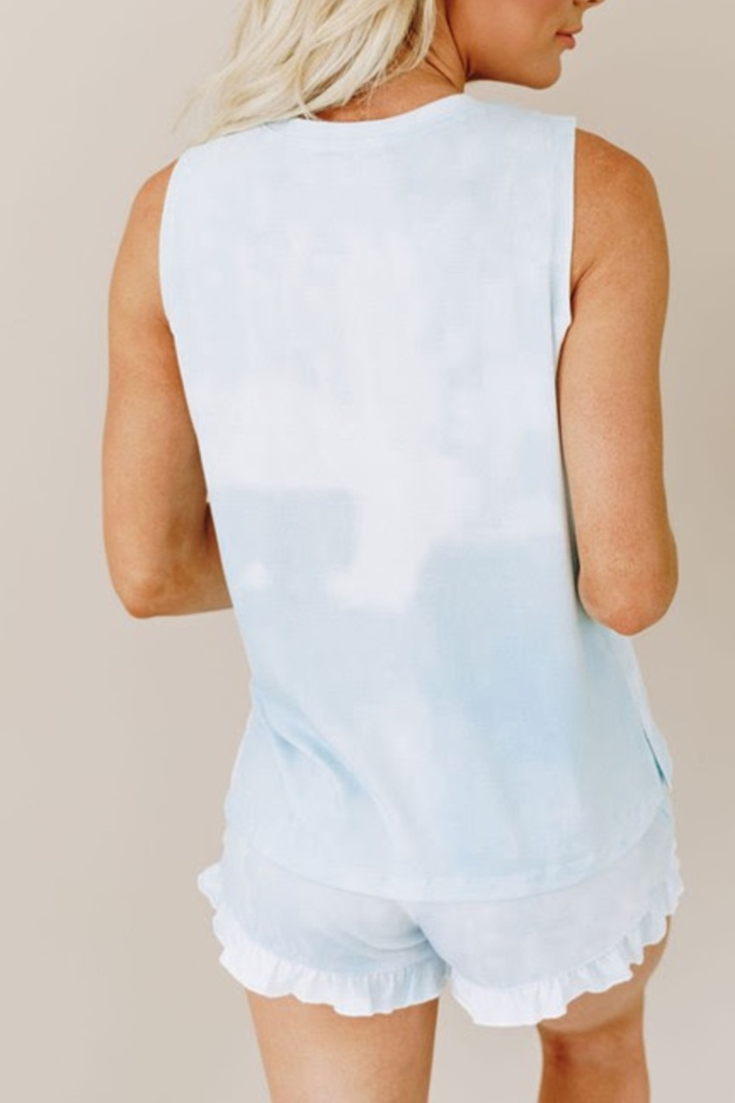 Shewin Set for Fun top/shorts - Front Full Image