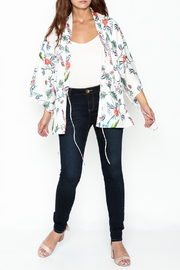 settle down Floral Kimono - Side cropped