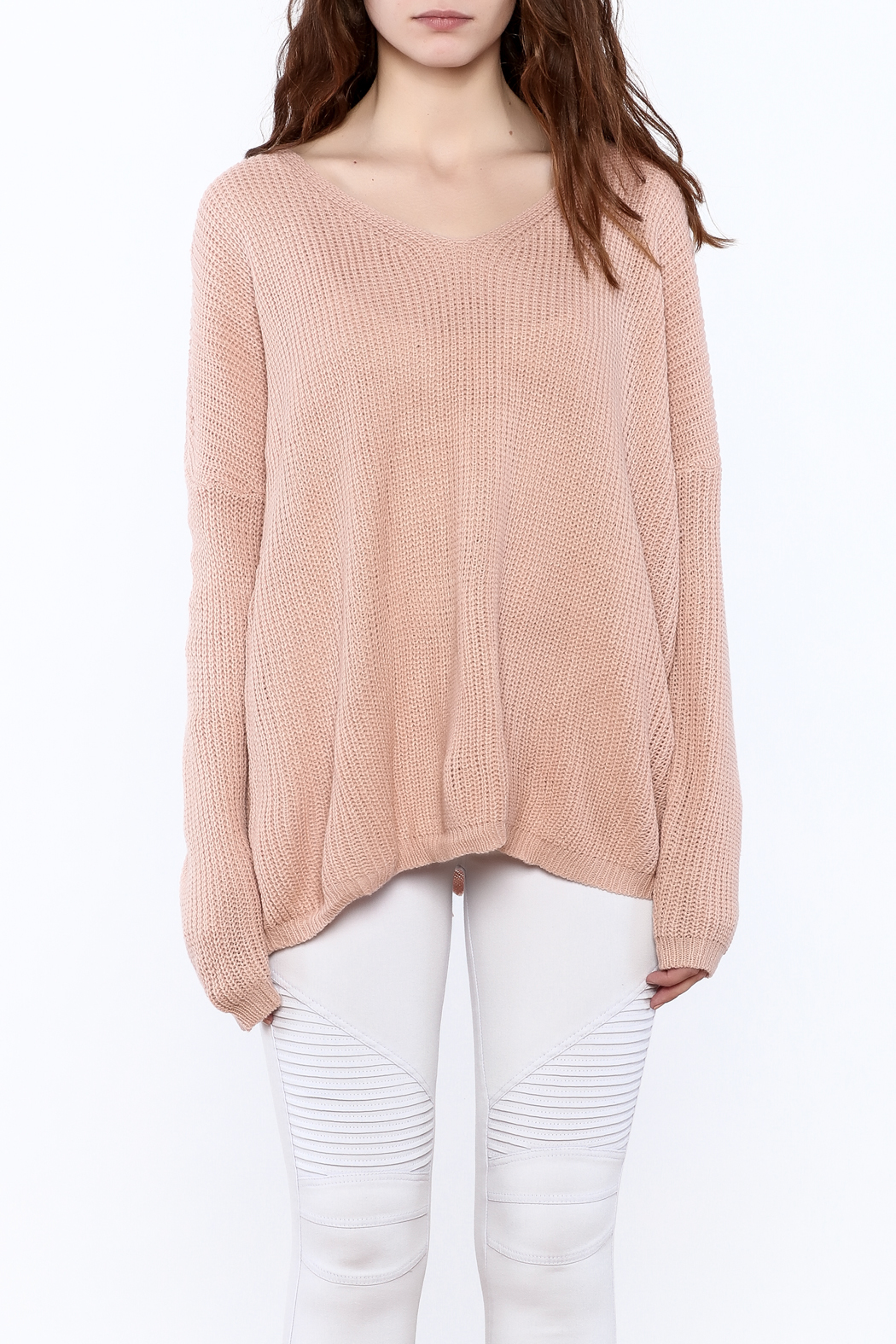 c269658f2b settle down Oversized Knitted Sweater from New York City by Angela I ...