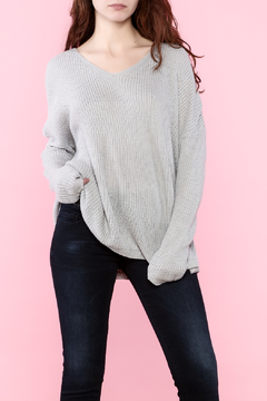 Shoptiques Product: Tie Up Back Sweater