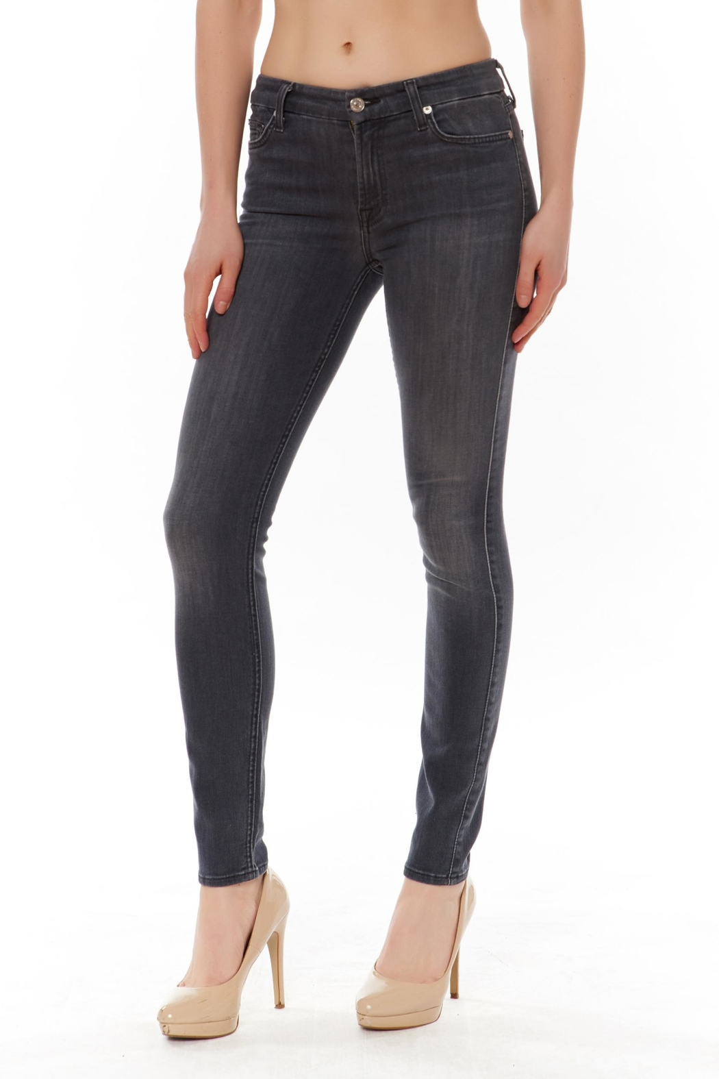 Seven Ankle Skinny Jean - Front Cropped Image