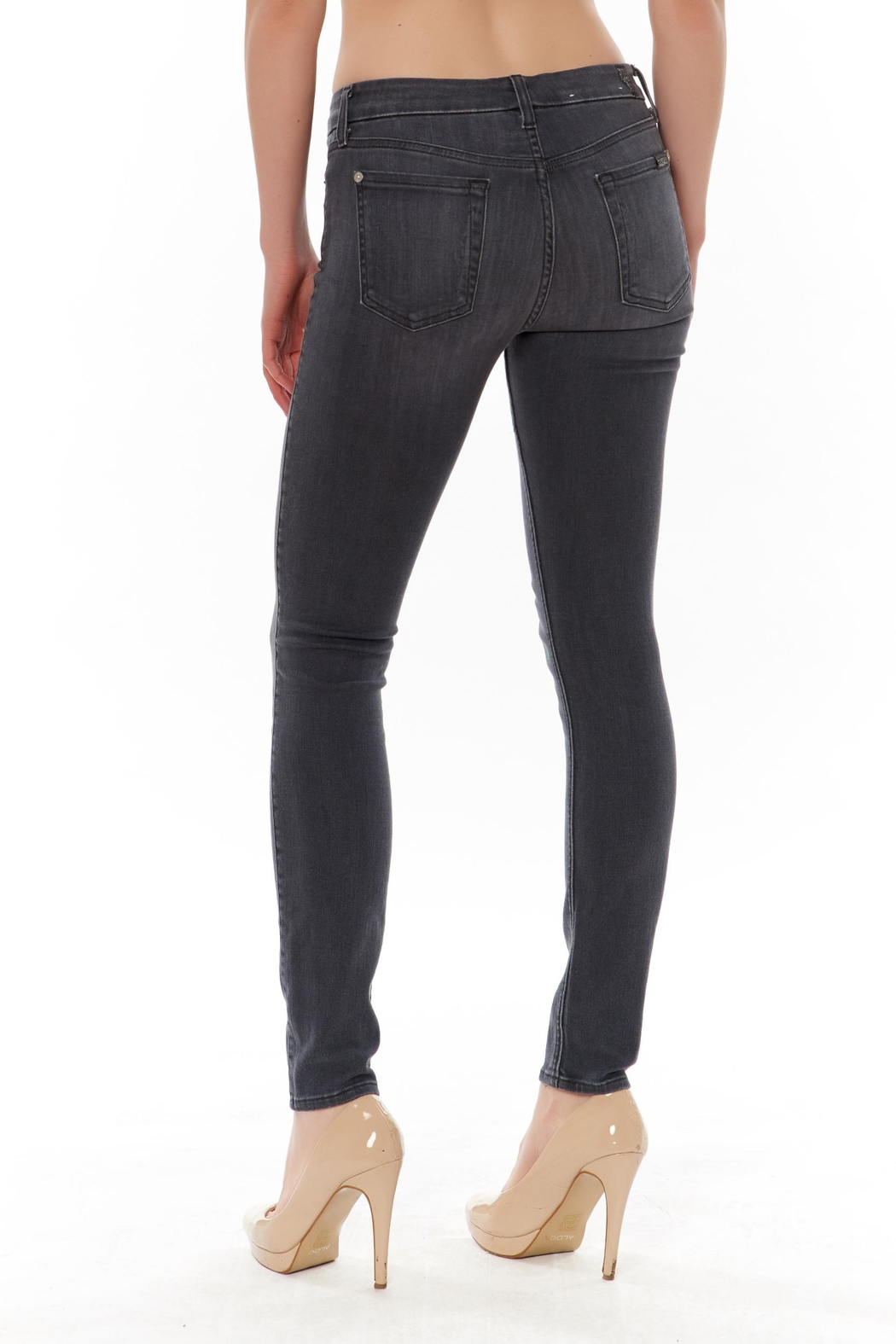 Seven Ankle Skinny Jean - Front Full Image