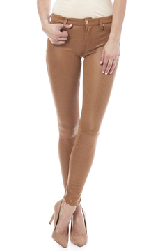 Shoptiques Product: Vegan Leather Skinny Jeans