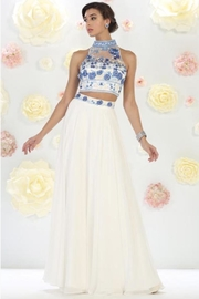 Seventeen Two-Piece Emroidered Formal-Dress - Product Mini Image