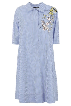 Seventy Iris Embroidery Dress - Product List Image