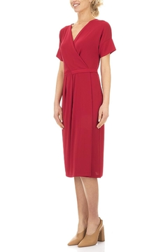 Seventy Red Jersey Dress - Product List Image