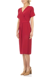 Seventy Red Jersey Dress - Product Mini Image