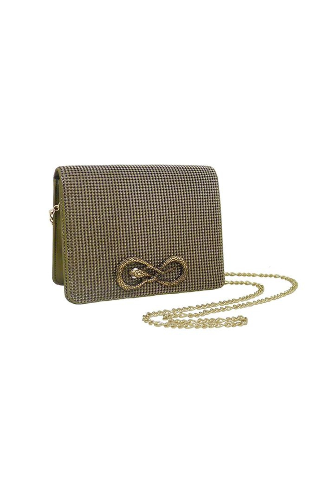 Whiting and Davis Seville Serpent Crossbody - Main Image