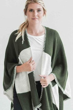 Mer Sea Seville Whipstitch Travel Wrap - Product List Image
