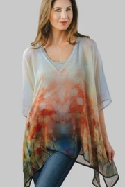 Sevya Poppy Crepe Top - Product Mini Image