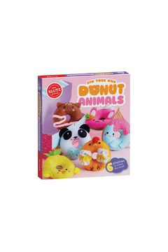 Klutz Sew Your Own Donut Animals Craft Kit - Product List Image