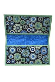Sew Bea It Fabric Checkbook Cover - Front full body