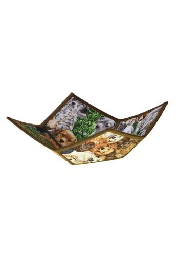 Shoptiques Product: Fabric Reversible Bowl - main