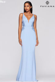 Faviana Sexy Beaded Gown - Product Mini Image