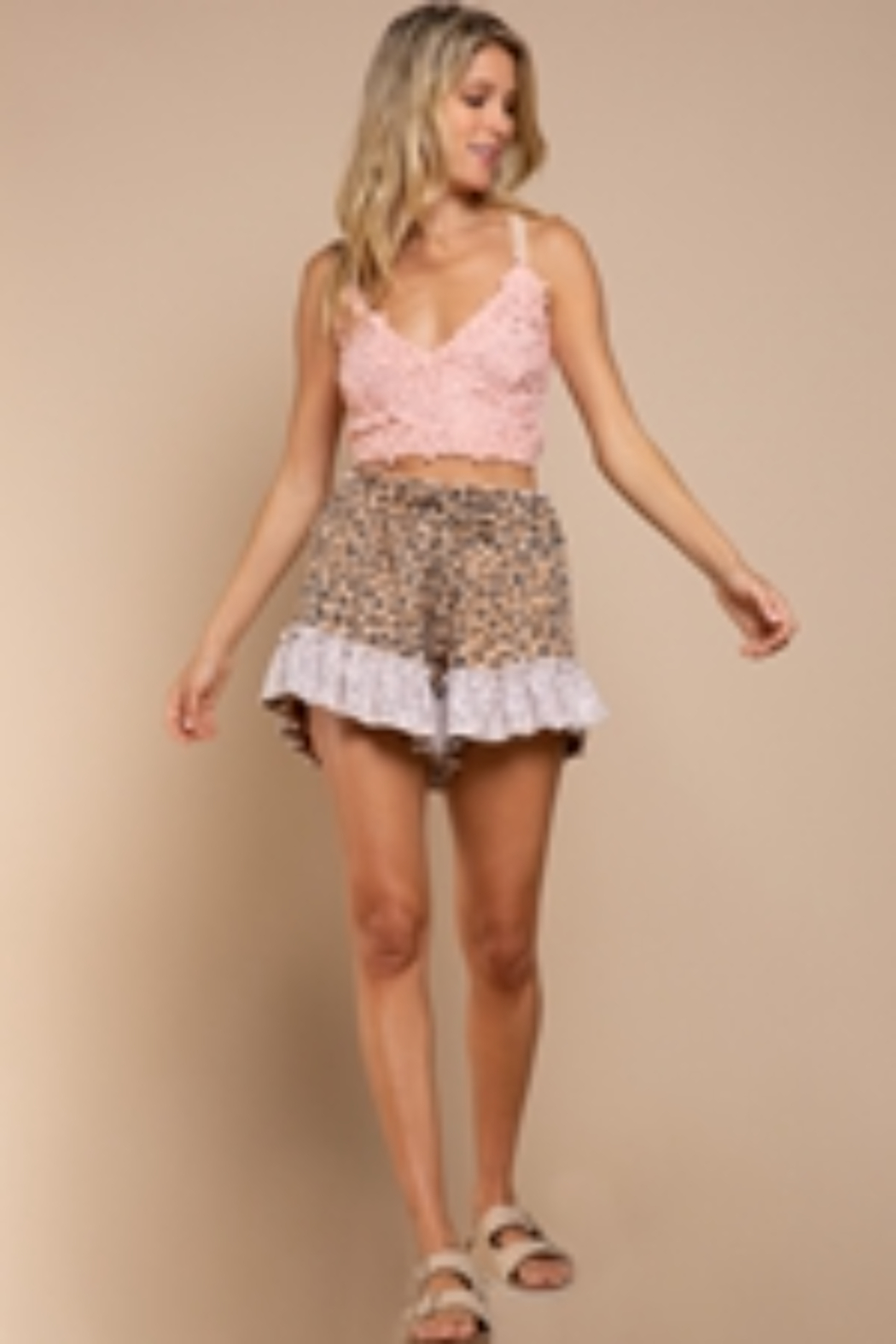 umgee  Must Have Shorts - Front Cropped Image