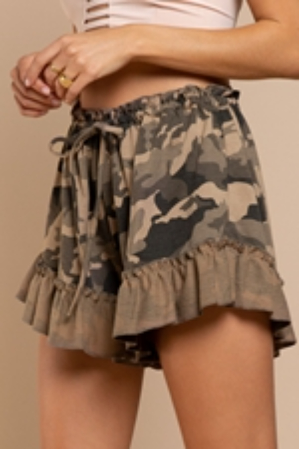 umgee  Must Have Shorts - Side Cropped Image