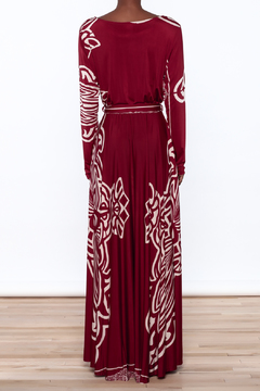 Shoptiques Product: Burgundy Maxi Dress