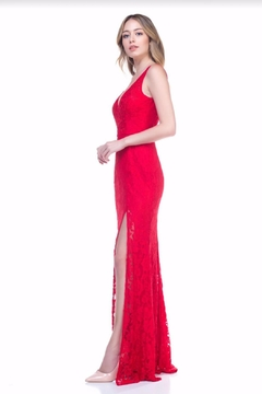 maniju Sexy Lace Gown - Product List Image