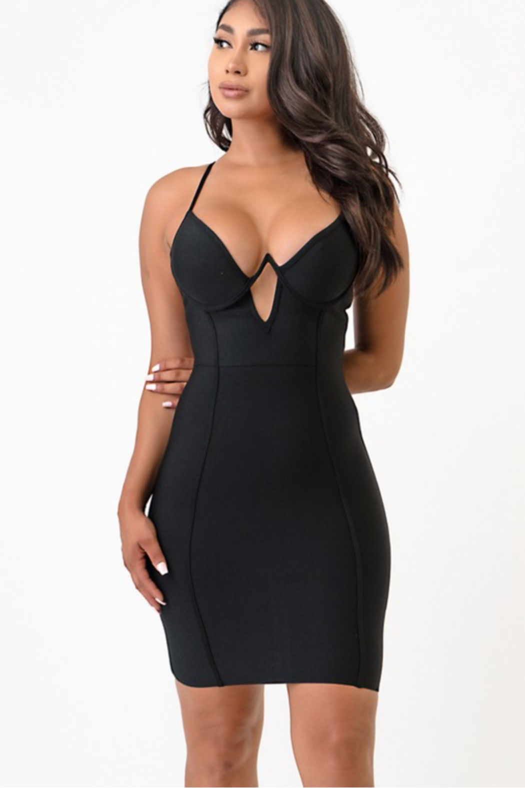 shop 17 Sexy LBD - Front Full Image