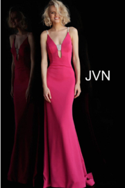 Jovani PROM Sexy Plunging Gown - Product Mini Image