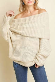 Umgee USA Sexy Ribbed Sweater - Front cropped