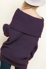 Umgee USA Sexy Ribbed Sweater - Front full body