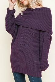 Umgee USA Sexy Ribbed Sweater - Product Mini Image