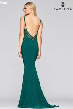 Faviana Sexy Sleek Gown - Alternate List Image
