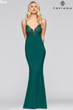 Faviana Sexy Sleek Gown - Product List Image