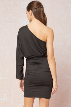 entro  Sexy & Solid One Shoulder Long Sleeve Dress - Alternate List Image