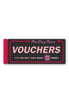 Knock Knock  Sexy Time Vouchers - Product List Image