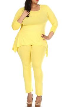Shoptiques Product: Yellow Plus Set