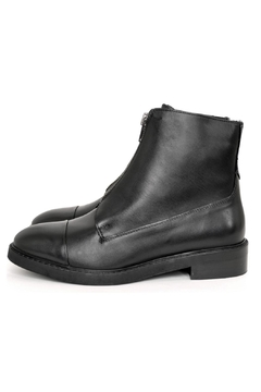 Shoptiques Product: Black Grunge Boots